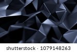 blue crystal background with...   Shutterstock . vector #1079148263