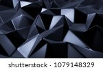 blue crystal background with...   Shutterstock . vector #1079148329