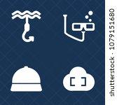 premium set of fill vector... | Shutterstock .eps vector #1079151680