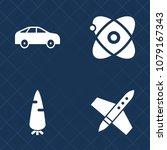 premium set of fill vector... | Shutterstock .eps vector #1079167343
