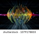 wave function series.... | Shutterstock . vector #1079178833