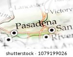 pasadena  california  usa on a... | Shutterstock . vector #1079199026