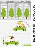 eco town  1  | Shutterstock .eps vector #107920850