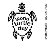 concept on the world turtles...   Shutterstock .eps vector #1079213939