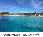 caribbean paradise beach | Shutterstock . vector #1079214296