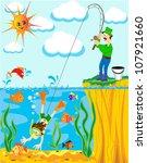 Illustration Fisherman Has...