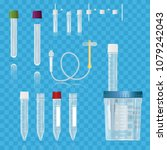 realistic medical supplies. for ... | Shutterstock .eps vector #1079242043