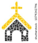 christian church collage icon... | Shutterstock .eps vector #1079242796