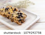 whole grains cookies with dark... | Shutterstock . vector #1079292758