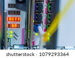 networking switch in data... | Shutterstock . vector #1079293364