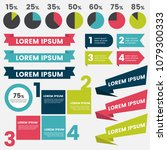 infographics design template... | Shutterstock .eps vector #1079300333