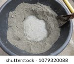 mixing of sand  water  and... | Shutterstock . vector #1079320088