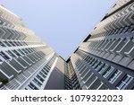 office buildings in city. | Shutterstock . vector #1079322023