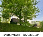 Small photo of Houses and green hedge in Ferney-Voltaire, France