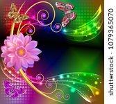 illustration abstract... | Shutterstock .eps vector #1079365070