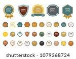 vector html icon | Shutterstock .eps vector #1079368724