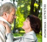 portrait of attractive senior... | Shutterstock . vector #107937530