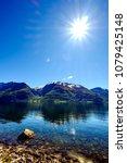 beautiful nature norway natural ... | Shutterstock . vector #1079425148