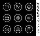 internet icons set with agenda  ...