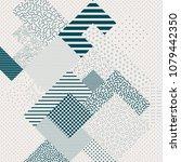 abstract modern geometric...   Shutterstock .eps vector #1079442350