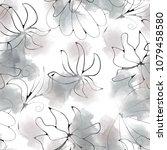 seamless pattern simple design. ...   Shutterstock . vector #1079458580