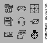 icons customer service with... | Shutterstock .eps vector #1079521736