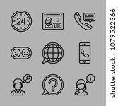 icons customer service with... | Shutterstock .eps vector #1079522366