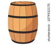 vector illustration wooden oak...   Shutterstock .eps vector #1079532170