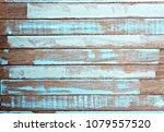 vintage wood background texture ... | Shutterstock . vector #1079557520
