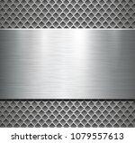 metallic background silver...