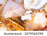 exquisite light agat texture... | Shutterstock . vector #1079565290