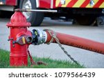 Fire Hydrant In Use During A...