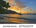 Amazing Sunset View. Sailing...