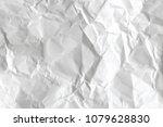 creased paper sheet texture | Shutterstock . vector #1079628830