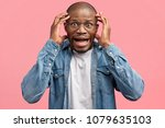 negative emotional and human... | Shutterstock . vector #1079635103