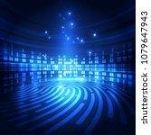 abstract vector super high... | Shutterstock .eps vector #1079647943