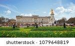 buckingham palace  london  uk ... | Shutterstock . vector #1079648819