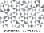 abstract triangles black and... | Shutterstock .eps vector #1079653478