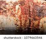rust and corrosion in the... | Shutterstock . vector #1079663546