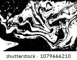 black and white liquid texture. ... | Shutterstock .eps vector #1079666210