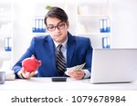businessman thinking about his...   Shutterstock . vector #1079678984