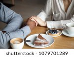 interracial couple holding... | Shutterstock . vector #1079701289