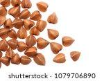 grain buckwheat closeup... | Shutterstock . vector #1079706890