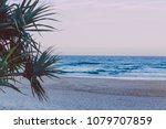 the beach and landscape in... | Shutterstock . vector #1079707859