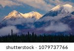 alaska range in the autumn | Shutterstock . vector #1079737766
