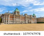 horse guards parade in london | Shutterstock . vector #1079747978