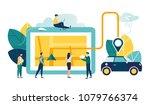 vector illustration  flat style ... | Shutterstock .eps vector #1079766374