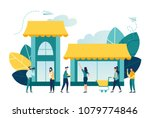 vector illustration  flat style ... | Shutterstock .eps vector #1079774846