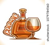 vector illustration of alcohol... | Shutterstock .eps vector #1079784560