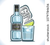 vector illustration of alcohol... | Shutterstock .eps vector #1079784656